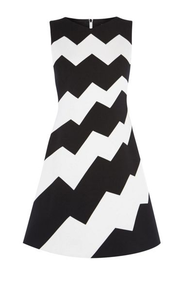 Karen Millen Zig-Zag Dress