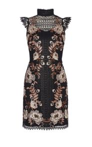 Karen Millen Lace Embroidered Dress