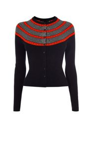 Karen Millen Circle Yoke Cardigan