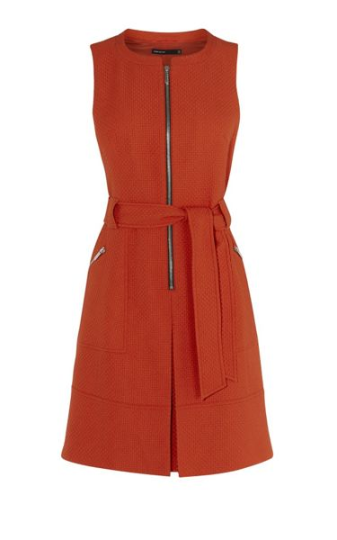 Karen Millen Zip-Front Dress