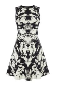 Karen Millen Floral Jaquard Knit Dress
