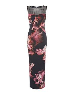 Midnight Orchid Maxi Dress