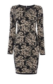 Karen Millen Floral Knit Dress