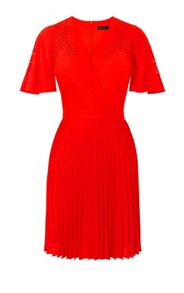 Karen Millen Laser Cut-Out Dress