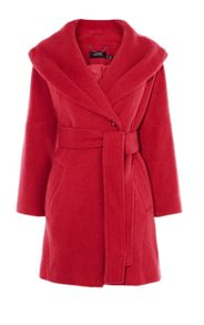Karen Millen Shawl-Collar Coat