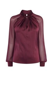 Karen Millen Knot-Neck Top