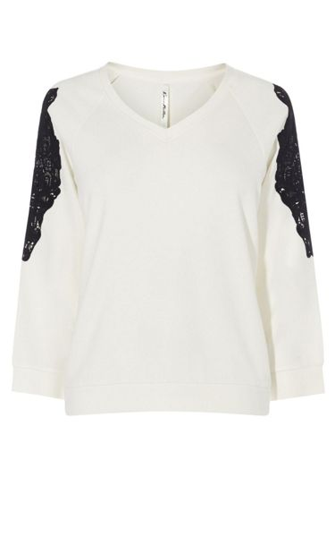 Karen Millen Lace Box Top