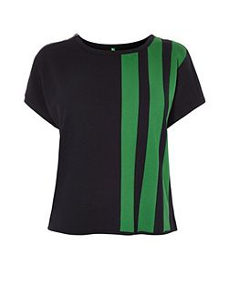 Green Stripe Box Top