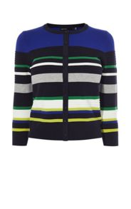 Karen Millen Colourblock Knit Cardigan