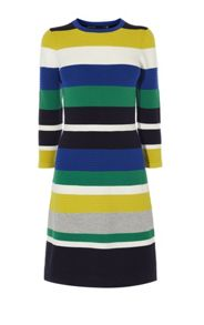 Karen Millen Colourblock Knit Dress