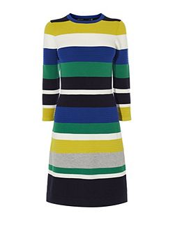 Colourblock Knit Dress