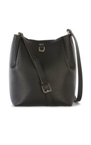 Karen Millen Small Embossed Duffle Bag