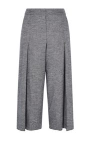 Karen Millen Cropped Tweed Trousers