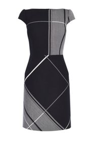 Karen Millen Macro-Check Dress