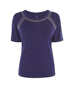 Stud Detail T-Shirt