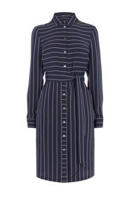 Karen Millen Pinstripe Shirtdress
