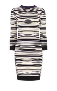 Karen Millen Pointelle Knit Dress