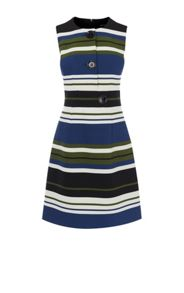 Karen Millen Striped A-Line Dress