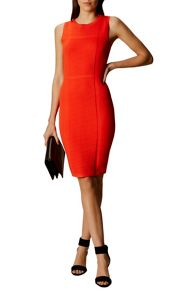 Karen Millen Textured Knit Pencil Dress