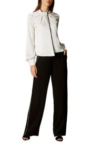 Karen Millen Contrast Piping Trousers