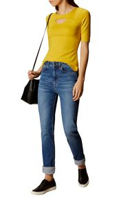 Karen Millen Cut Out Casual Top