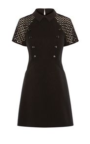 Karen Millen High-Neck Jacquard