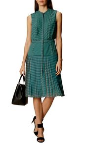 Karen Millen Drop Waisted Striped Dress