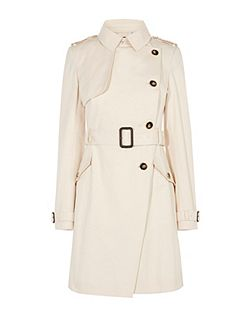 Side Button Trenchcoat