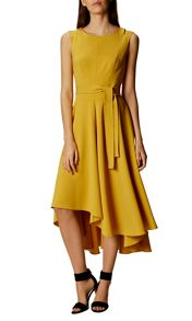 Karen Millen Asymmetrical Midi Dress