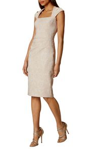 Karen Millen Jacquard Pencil Dress