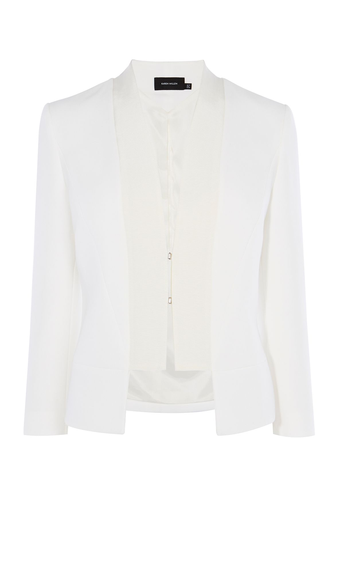 Karen Millen Fluid Tailoring Collection, White