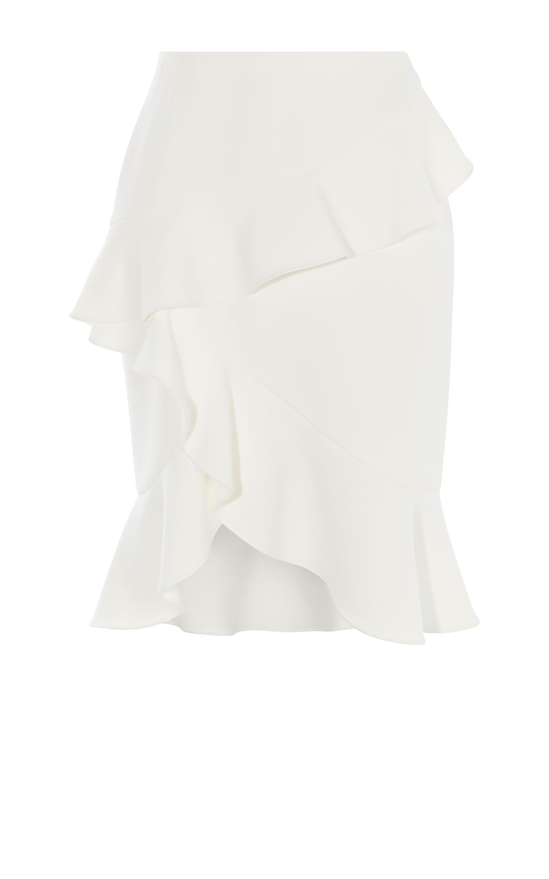 Karen Millen Ruffle Skirt, Neutral