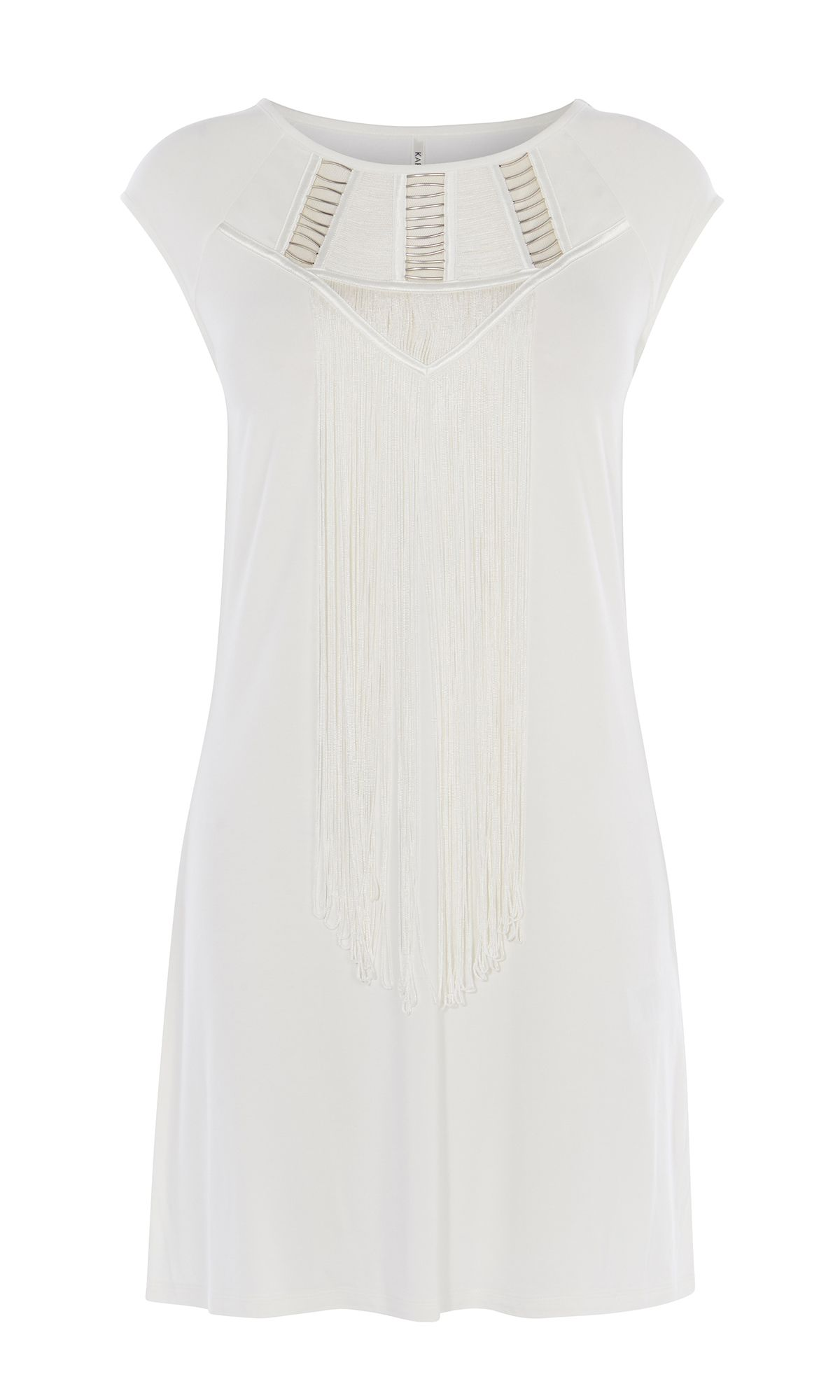 Karen Millen Tunic T-Shirt Dress, White