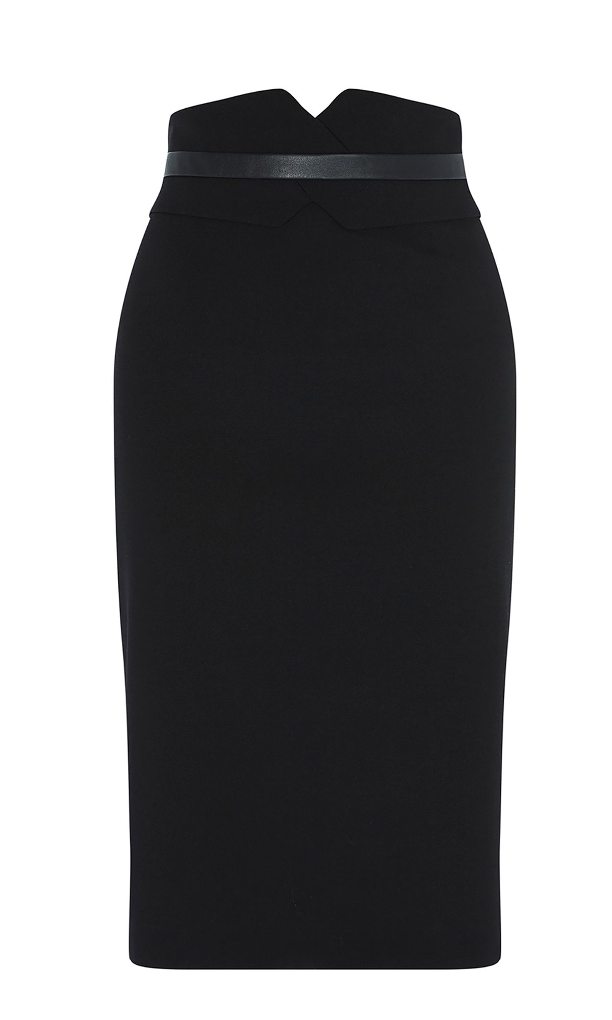 Karen Millen High-Waisted Pencil Skirt, Black