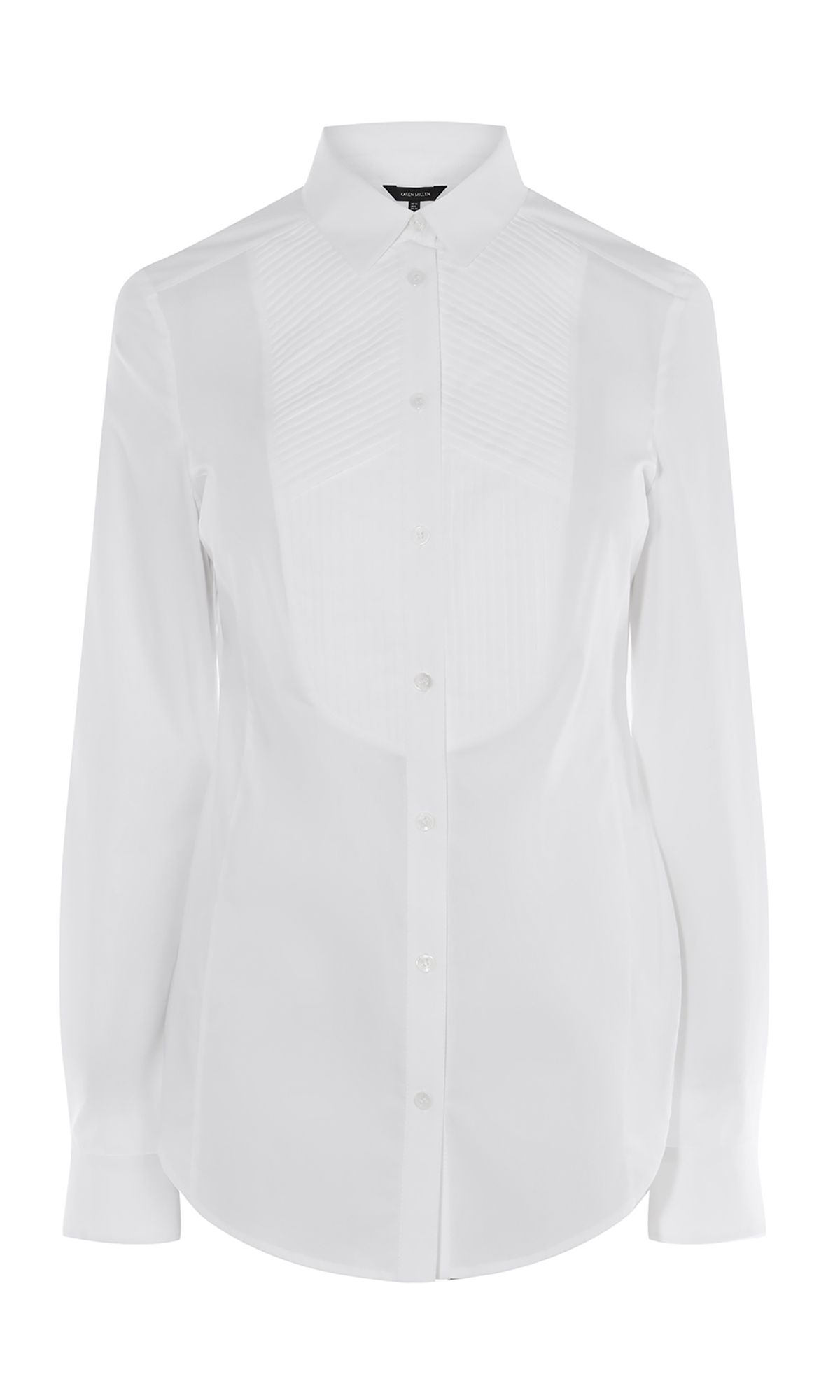 Karen Millen Long Sleeve Shirt, White