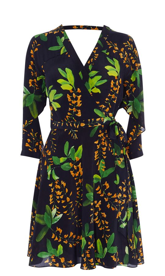 Karen Millen Floral Silk Dress