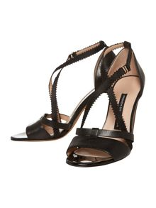 Nava high sandal with straps