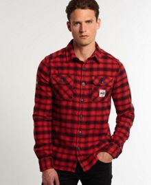 Milled Flannel Shirt