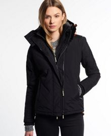 Hooded Sherpa Quilted Windcheater
