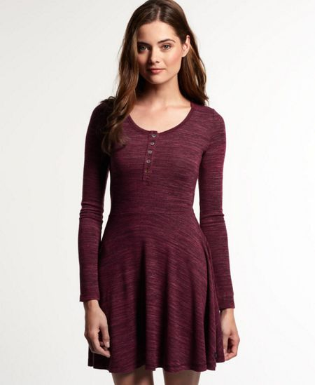 Superdry Essential Twist Yarn Skater Dress