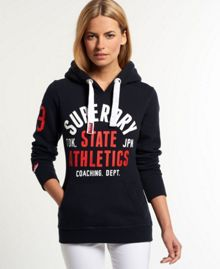 State Athletics Track And Field Hoodie