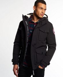 Superdry Military everest coat