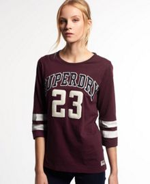 Superdry Campus Appliqué T-shirt