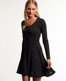 Superdry Essential Yarn Skater Dress