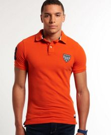 Superdry Concorde Pique Polo Shirt