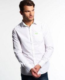 Superdry Cut collar shirt