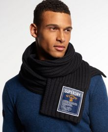 Superdry Super Cable Scarf