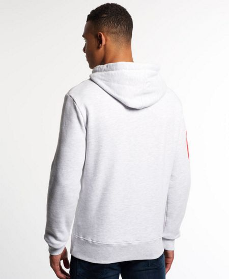 Superdry Extra large angle athletic hoodie