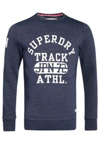Superdry Trackster Crew Sweat Top