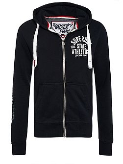 Track And Field Zip Hoodie